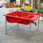 Oasis Red Tray