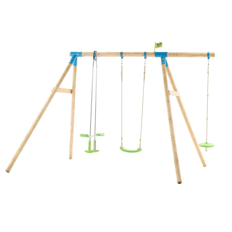 Tp Snowdonia Wooden Swing Set-fsc?