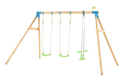 TP Woburn Wooden Triple Swing Set-FSC?
