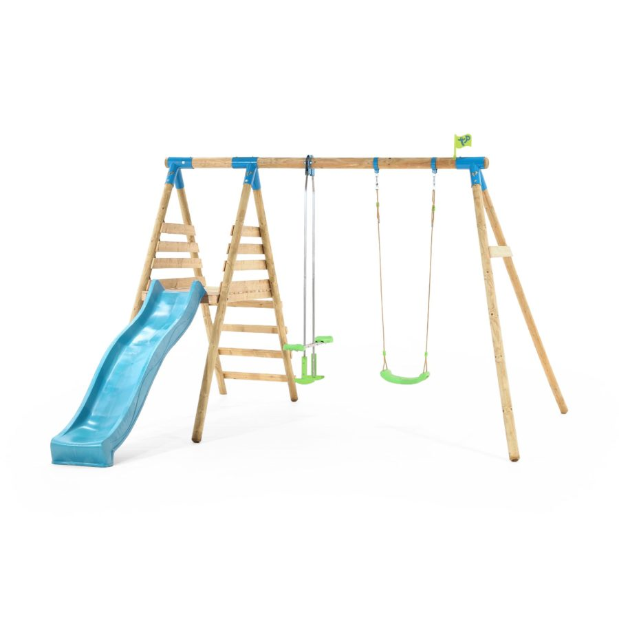 Tp Alaska Wooden Swing Set & Slide-fsc?