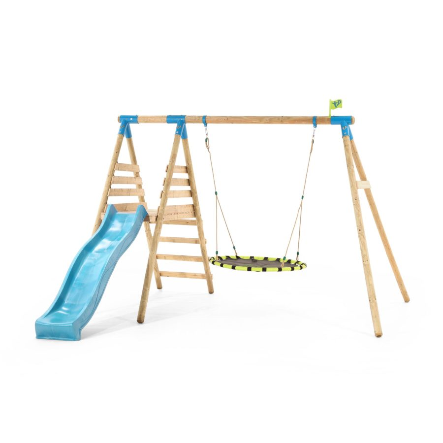 Tp Fiordland Wooden Swing Set & Slide-fsc?