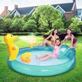 Inflatable Seahorse Play Paddling Pool