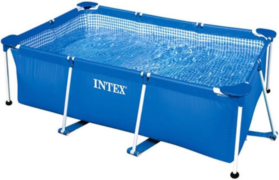 Intex 28271 Rectangular Frame Pool 2.6m X 1.6m X 0.65m