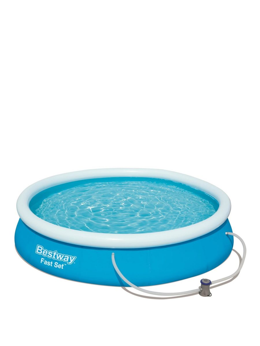 Bestway 8ft Round Inflatable Fast Set Pool With Pump