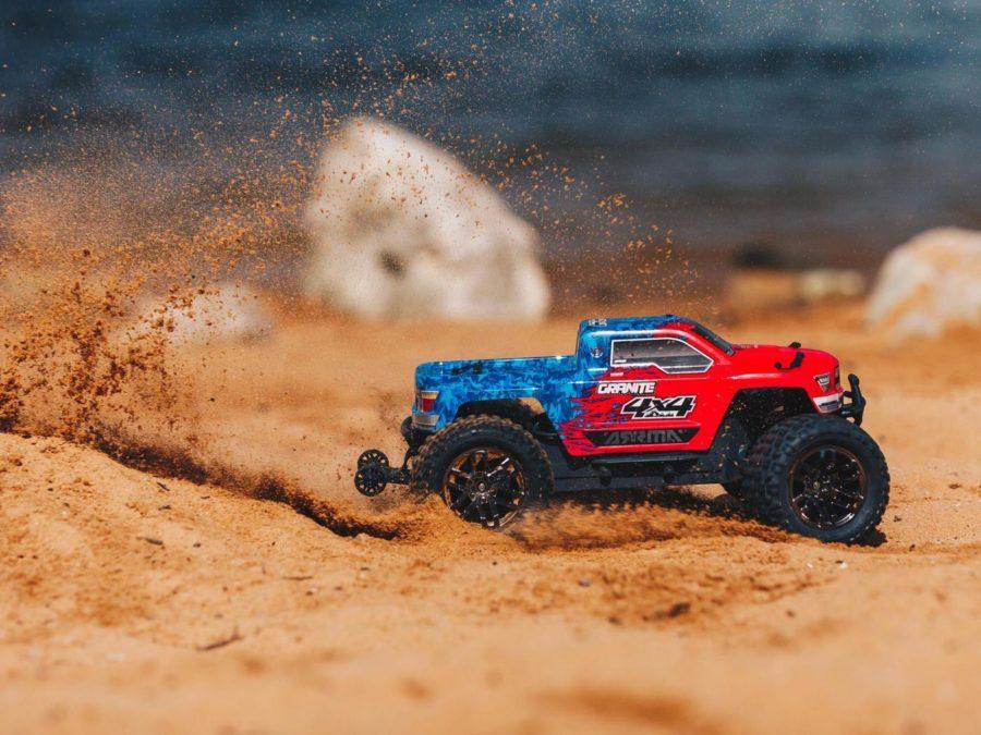 Granite 4x4 3s Blx Monster Truck Red/blue