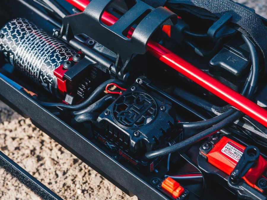 Arrma Mojave 6s Blx 1/7 Desert Truck Blk/red