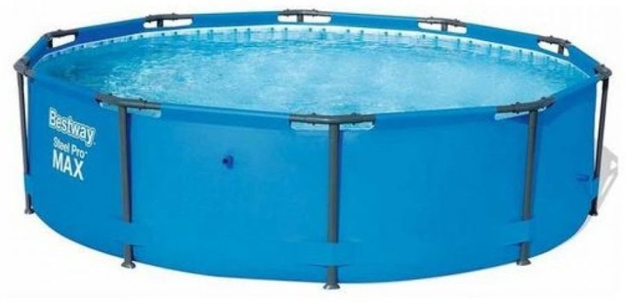 Bestway 56406 10ft Swimming Pool Steel Pro Frame 3.05×76 Cm