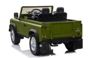 Licensed Land Rover Defender 90 24v* 4wd Ride On Pickup Style Jeep – Green