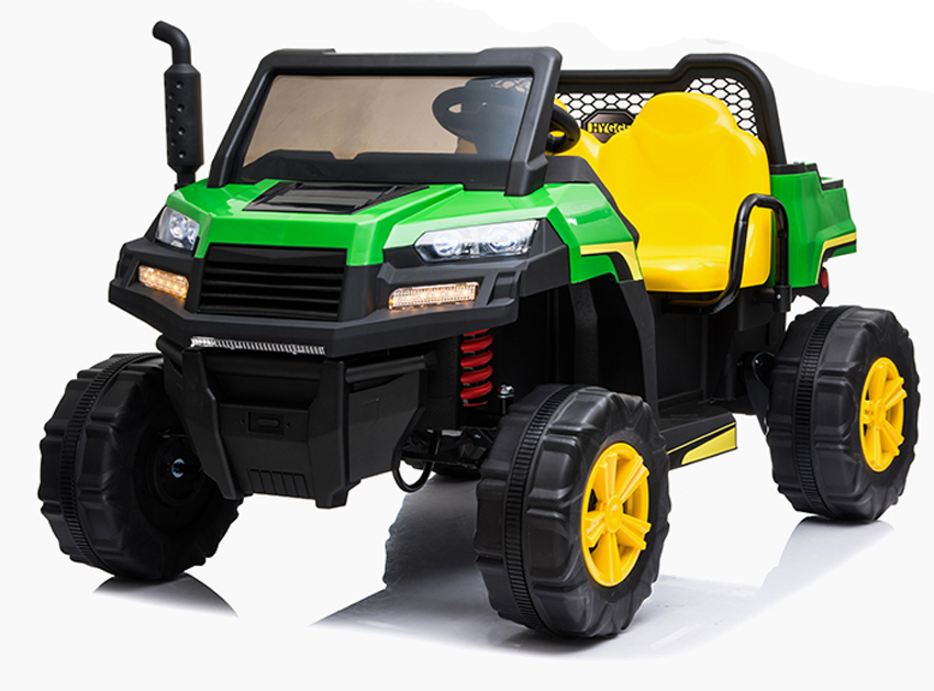 Farmtrac 4wd Utlity Truck With Tipper Children's 24v *electric Ride On Utv