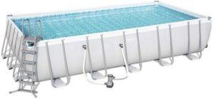 Bestway 22ft Rectangular Framed Swimming Pool