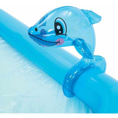 Bestway 53052 Inflatable Kiddie Pool With Aquarium Theme