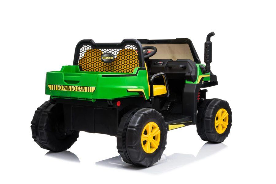 Farmtrac Utlity Truck With Tipper Children's 24v Electric Ride On Utv