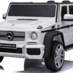 Licensed Mercedes Maybach G650 12v Children's Ride On Jeep – White