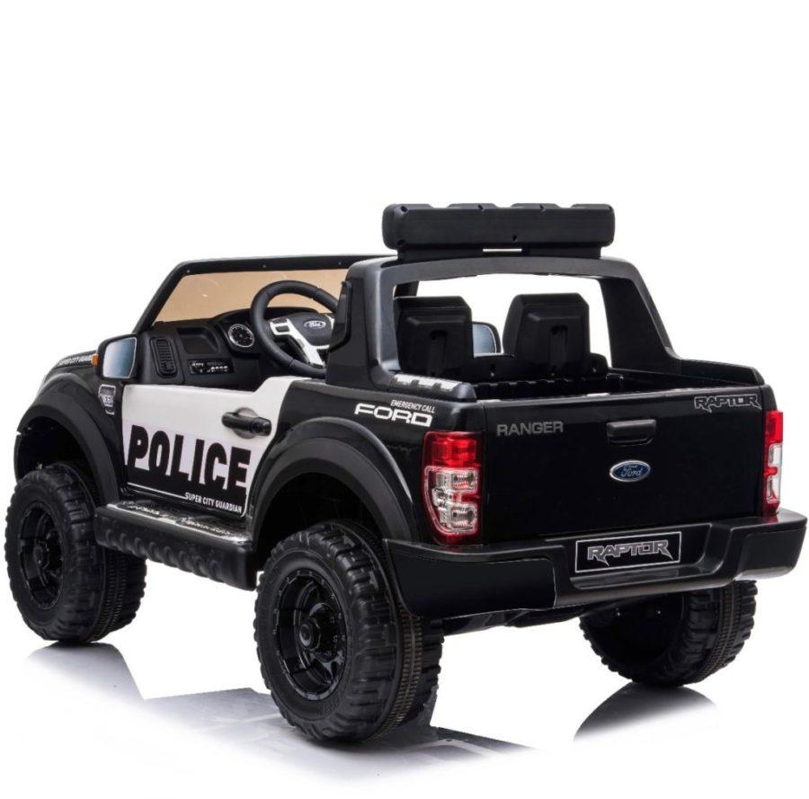 Ford Ranger Police Licensed 12v Kids Ride On Electric 2.4g Remote Control Car
