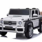 Licensed Mercedes Maybach G650 12v Children?s Ride On Jeep – White