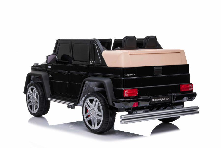 Licensed Mercedes Maybach G650 12v Children?s Ride On Jeep – Black
