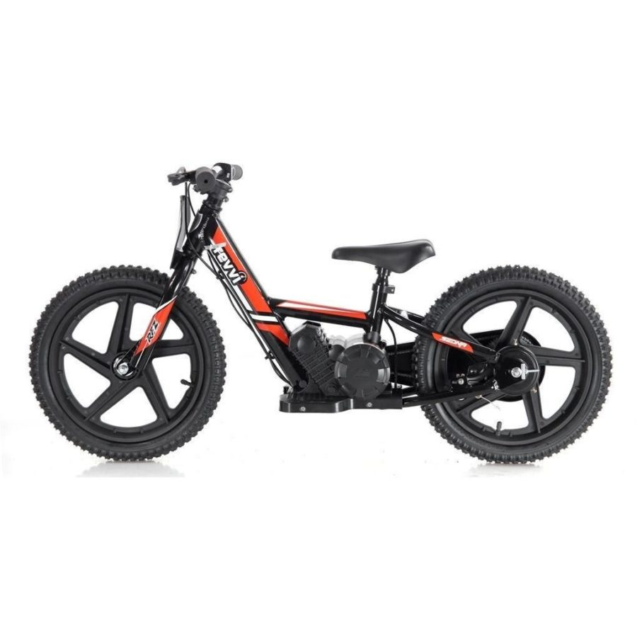 Revvi Lithium 16″ Kids Electric Dirt Bike – 24v Motorbike – Red