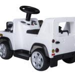 Kids Ride On 6v Land Rover Defender 90 – White