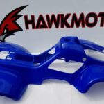 110cc Hawkmoto Thunder Cat Plastic Body Fairing – Blue – Fjq10