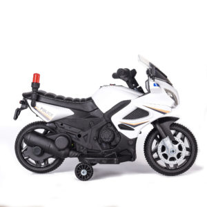 6v Kids Electric Motorbike - Police – With Flashing Lights
