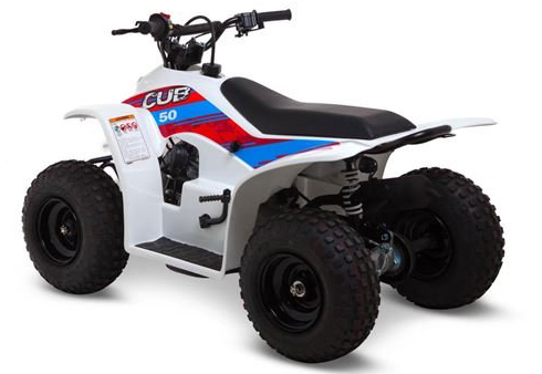 Smc Cub50 50cc Kids Quad Bike White