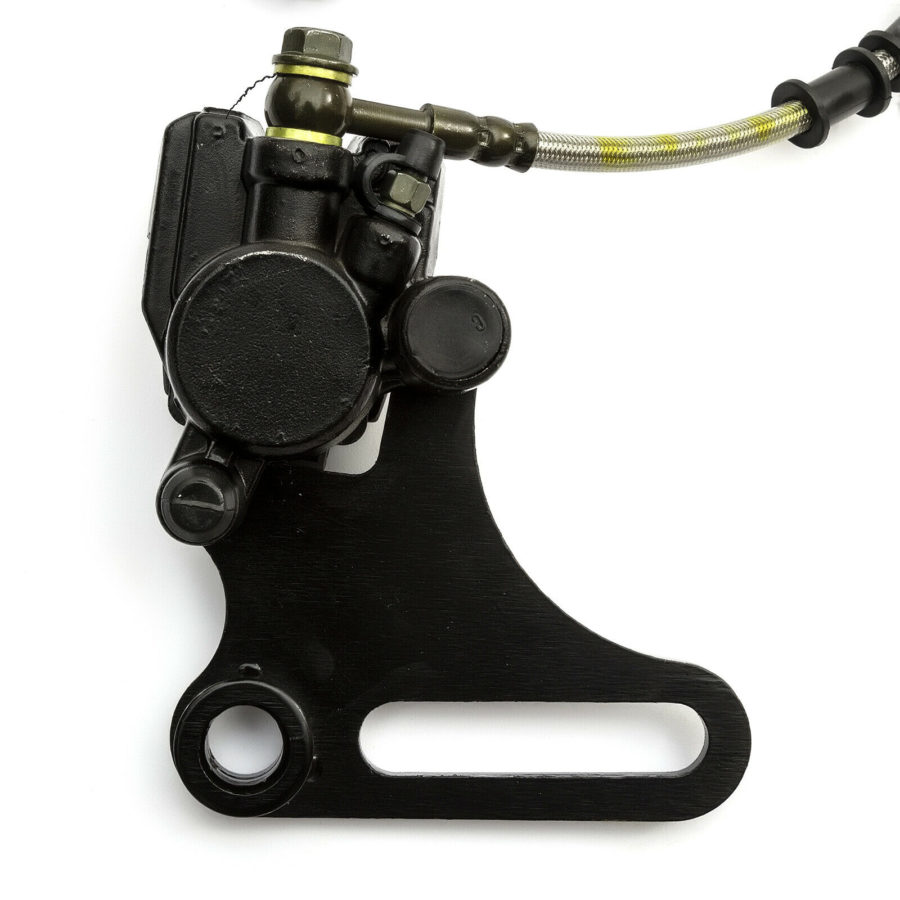 Rear Brake Assembly Atv Quad Caliper 50cc 70cc 90cc 110cc 125cc Master Cylinder