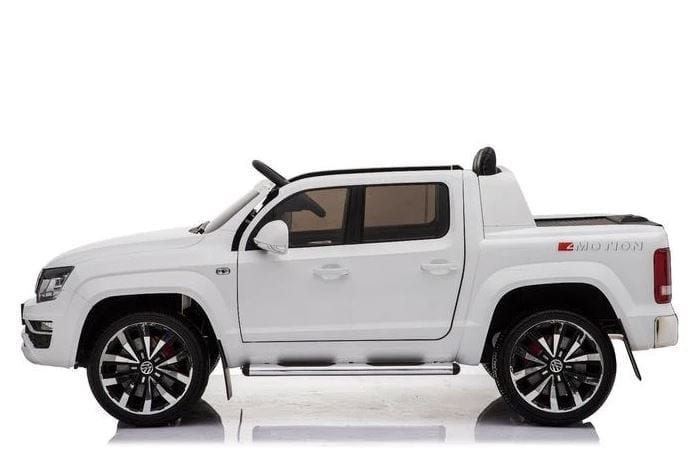 Vw Amarok Licensed 2020 Model Childrens Battery Ride On Jeep – White