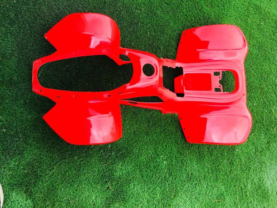 110cc Hawkmoto Thunder Cat Plastic Body Fairing  – Red  Fjq10