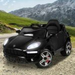 Porsche Style Ride-on Kids Car With Remote Control – Black