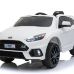 Licensed Ford Focus Rs 12v Childrens Kids Battery Ride On Car – White