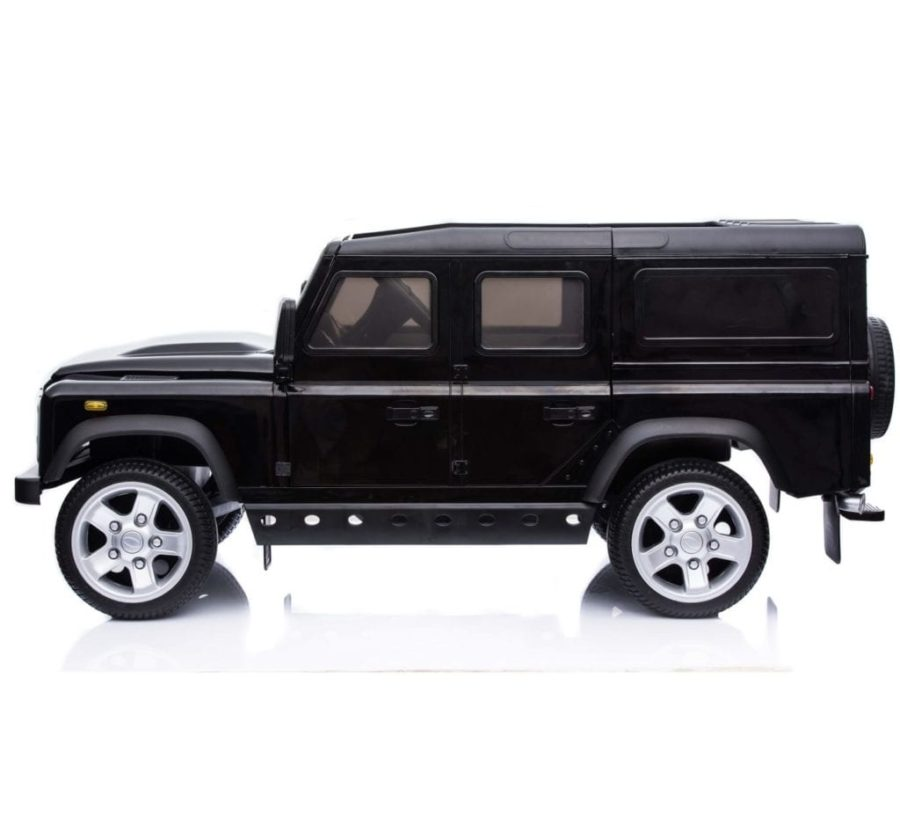 Licensed Land Rover Defender 110 12v Child's Ride On – Black