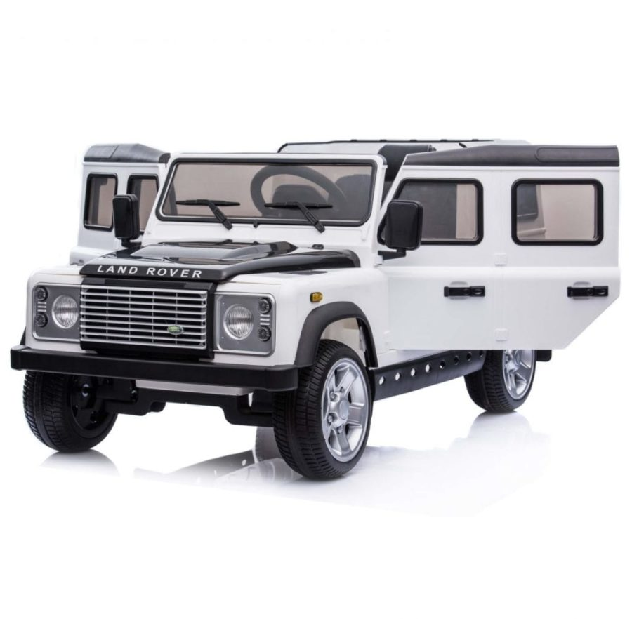 Licensed Land Rover Defender 110 12v Child's Ride On – White
