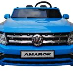 Vw Amarok Licensed 2020 Model Childrens Battery Ride On Jeep – Blue
