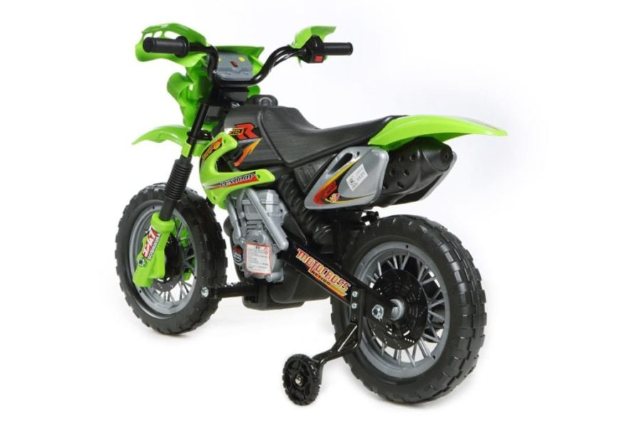 6v Kids' Electric Ride On Bike 2019 Scrambler Dirtbike – Green