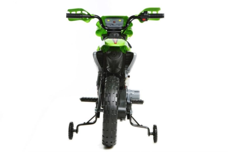 6v Kids Electric Ride On Bike 2019 Scrambler Dirtbike – Green