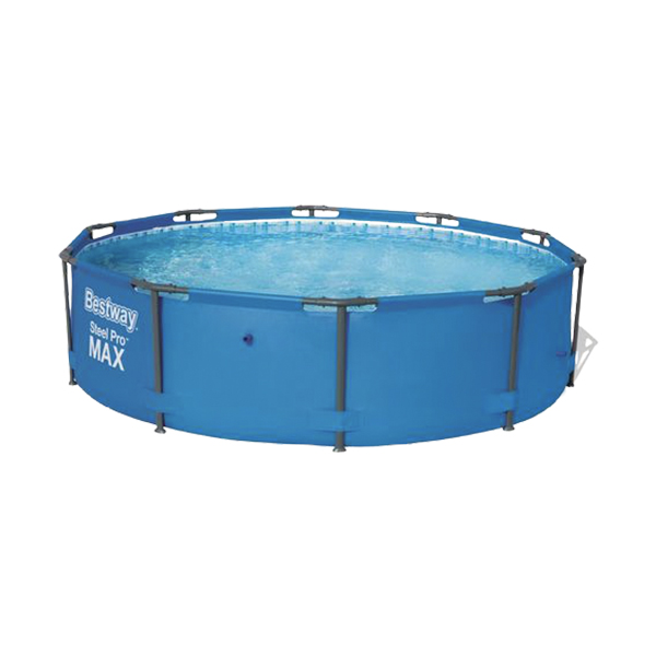 Outsideplay 0002 New Bestway Round Swimming Pool Steel Frame 2 Sizes Selectable Blue Backyard P 356281 1525705 1 Remove 1