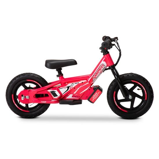 Amped A10 Pink 100w Electric Kids Balance Bike