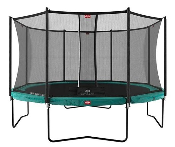 Berg Champion Regular 430 14ft Green + Safety Net Comfort
