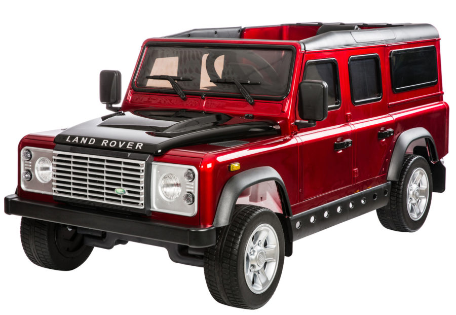 Licensed Land Rover Defender 110 12v Child's Ride On – Red