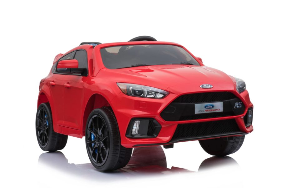 Licensed Ford Focus Rs 12v Childrens Kids Battery Ride On Car – Red