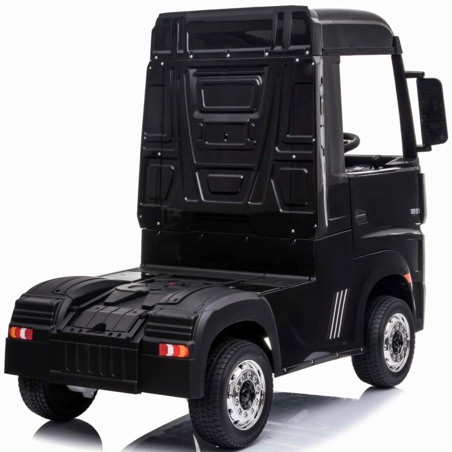 Licensed Mercedes-benz Actros 4wd 24v* Ride On Lorry – Black