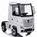 Licensed Mercedes-benz Actros 4wd 24v* Ride On Lorry – White