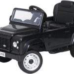 Licensed Pedal Land Rover Defender 90 Kids Ride On Car – Black