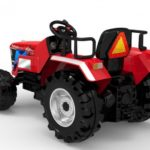 12v Tractor Ride On Kids Agricultural Vehicle – Red