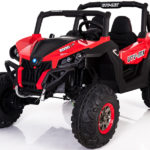 Utv-mx 24v* Twin Seat Kids 4wd Buggy – Eva Wheels – Red