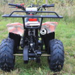 Hawkmoto Boulder 110cc Kids Quad – Extreme Red