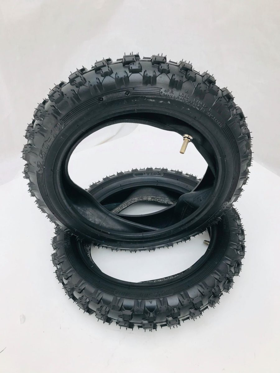Mini Dirt Bike Tyre 10 Inch 2.50 X 10 With Innertube