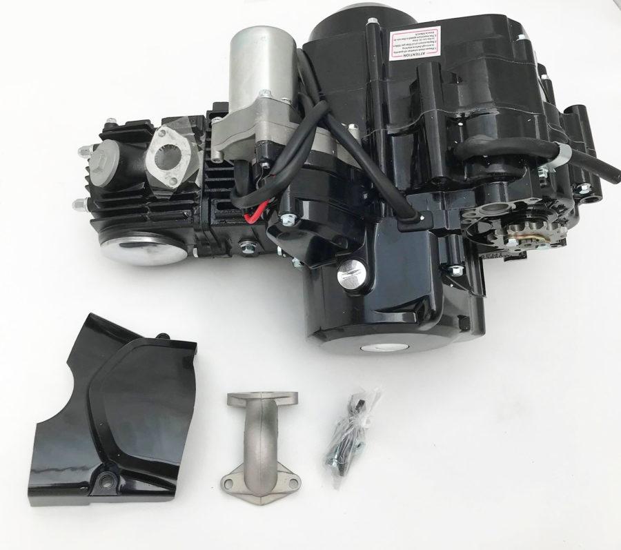 Eng17 Engine 125cc 4 Stroke Automatic Quad Bike / Atv Engine 156fmi