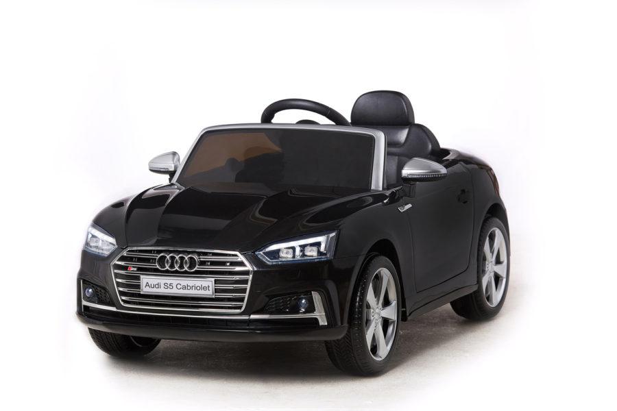 Licensed 12v Audi S5 Children's Battery Operated 12v Ride On – Black