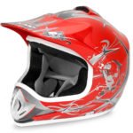 Kids Motocross Mx Open Face Helmet Blue (copy)